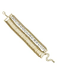 Mood Diamante Crystal Stick Bracelet