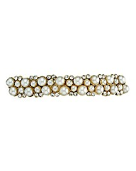Mood Pearl And Crystal Hair Slide