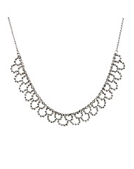 Mood Diamante Crystal Lattice Necklace