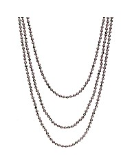 Mood Triple Row Pearl Necklace