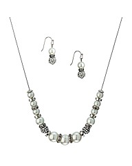Mood Pearl Crystal Matching Set