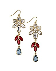 Mood Mixed Stone Drop Earring