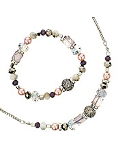 Mood Multi Bead Jewellery Set