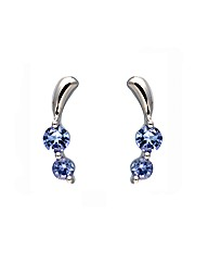 9ct Tanzanite Earrings