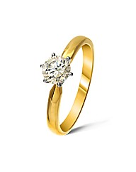 9ct Gold 0.5Ct Diamond Ring