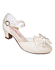 Sparkle Club Ivory Sparkly Shoes