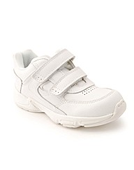 Start-rite Meteor White Leather Fit G