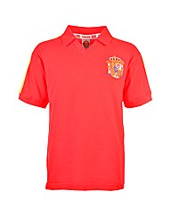 Spain Retro Football Shirt