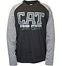 Caterpillar Rugged baseball Tee