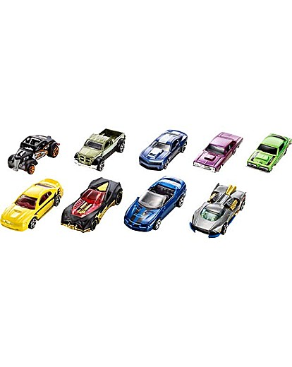 Hot Wheels Car  9 Pack