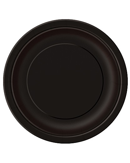 "Image of 9"" Round Paper Plates x 16"