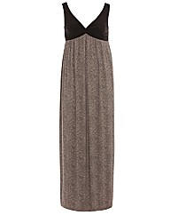 Threads Animal Print 2in1 Maxi Dress