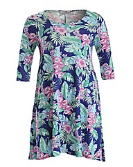 Praslin Floral Swing Dress