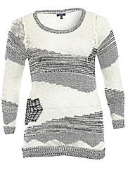 Samya Contrast Knit Jumper