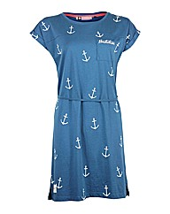 Ladies Blue Anchor Dress