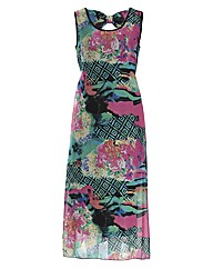 Koko Floral Abstract Maxi