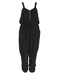 Threads Zip Front Jumpsuit