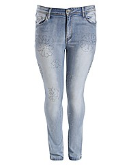 Koko Diamante Embellished Jeans.