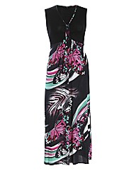 Koko Butterfly Maxi Dress