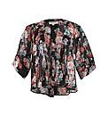 Threads Floral Print Kimono