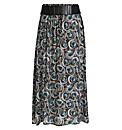 Samya Geometrical Print Maxi Skirt