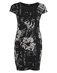 Samya Short Sleeve Floral Printed Midi D