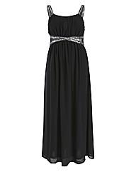 Rubys Closet Embellished Maxi Dress