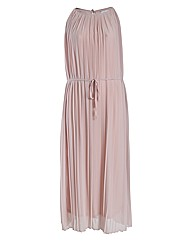 Rubys Closet Pleated Maxi Dress
