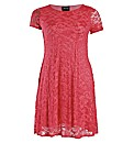 Rubys Closet Lace Swing Dress