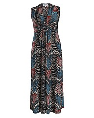 Threads Snake Plait Front Maxi Dress