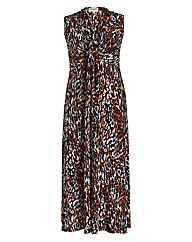 Threads Animal Plait Maxi Dress