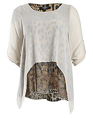 Koko Double Layer Animal Top