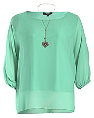 Koko Heart Necklace Top
