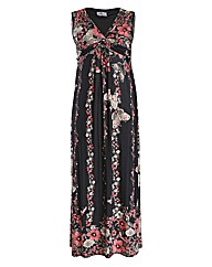 Praslin Twisted Front Maxi Dress