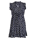Samya Cap Sleeve Daisy Print Dress