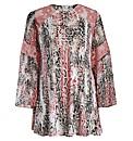 Rubys Closet Leopard Print Swing Dress