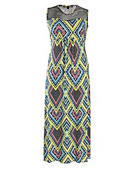 Koko Abstract Print Maxi