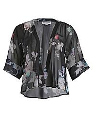 Threads Kimono Printed Blazer