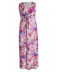 Threads Floral Blur Maxi Dress