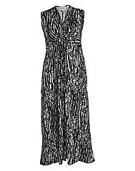 Threads Tribal Plait Front Maxi Dress