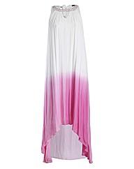 Samya Embellished Halterneck Tye Dye Max