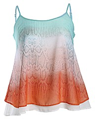 Threads Double Layer Swing Cami