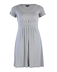 HotSquash Pleat Jersey Dress