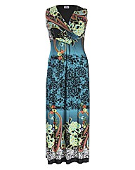 Praslin Paisley Print Maxi Dress