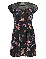 Praslin Floral Skater Dress