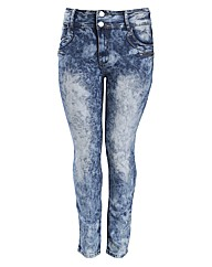 Koko Light Acid Wash Jeans