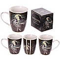 Fantasy Wolf Song Bone China Mug