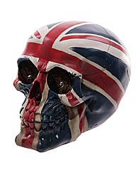 Novelty Skull Decoration - Union Flag