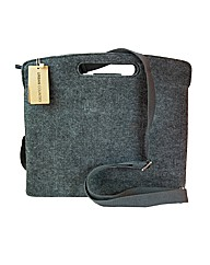 Urban Country Felt Pierced Handle Folio