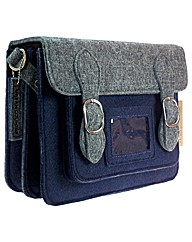 Urban Country Small Felt Satchel
